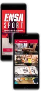 aplicación ensa sport